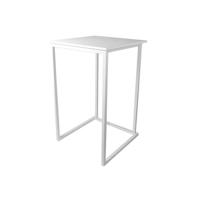 TABLE MANGE DEBOUT KUBO BLANC