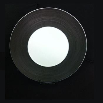 ASSIETTE NOIRE 30cm