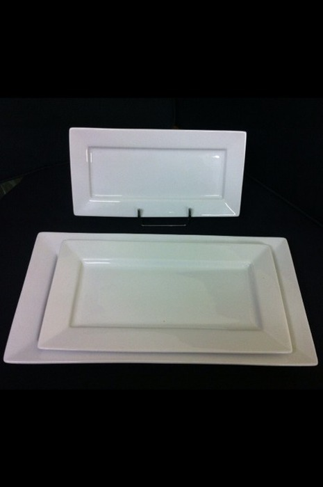 ASSIETTE RECTANGLE 24x12
