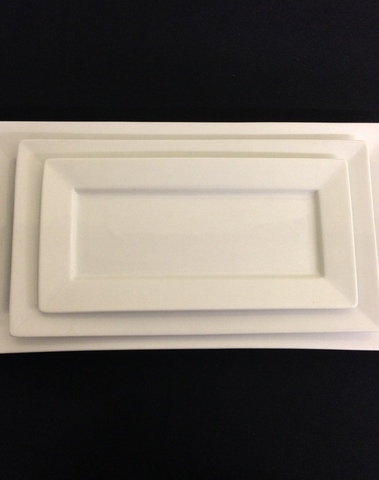 ASSIETTE RECTANGLE 33 X 18