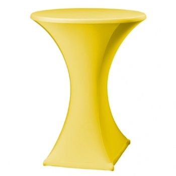 HOUSSE STRETCH MANGE DEBOUT JAUNE