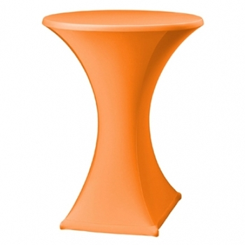 HOUSSE STRETCH MANGE DEBOUT ORANGE