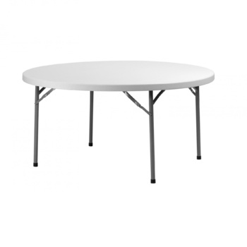 TABLE RONDE 180CM PVC