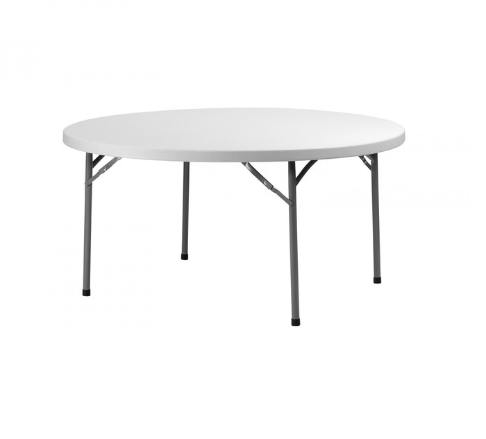 TABLE RONDE 120CM PVC