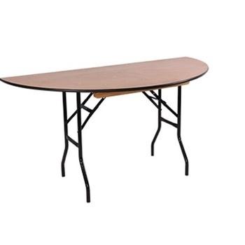 TABLE DEMI-LUNE 150