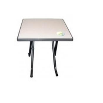 TABLE JARDIN 70X70 NOIRE