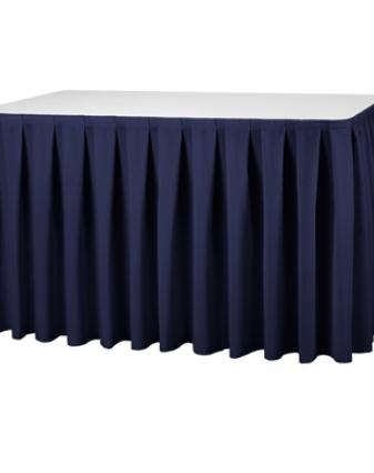 JUPE DE TABLE 4 M ECRUE